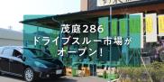 【machicoレポート】車に乗ったまま、密集なく安心してお買い物。 新鮮野菜・鮮魚が買える「茂庭286ドライブスルー市場」がオープン!