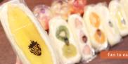 主役の果物がゴロゴロ入った仙台のフルーツサンド専門店